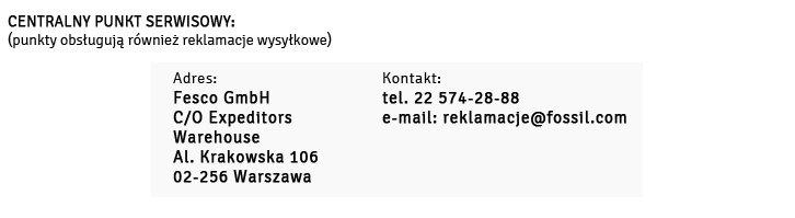 Gwarancja DKNY