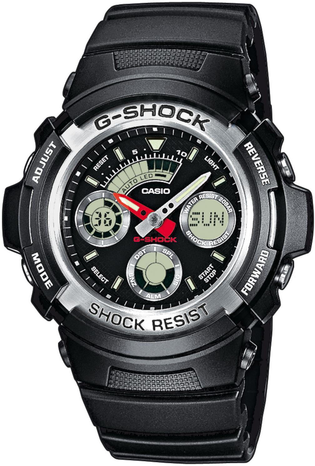 zegarek Casio AW-590-1AER - zdjęcia 1