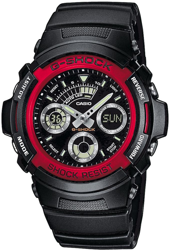 zegarek Casio AW-591-4AER - zdjęcia 1