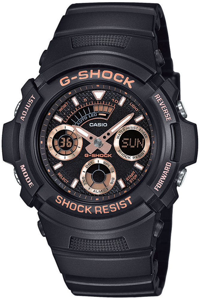 zegarek Casio AW-591GBX-1A4ER - zdjęcia 1
