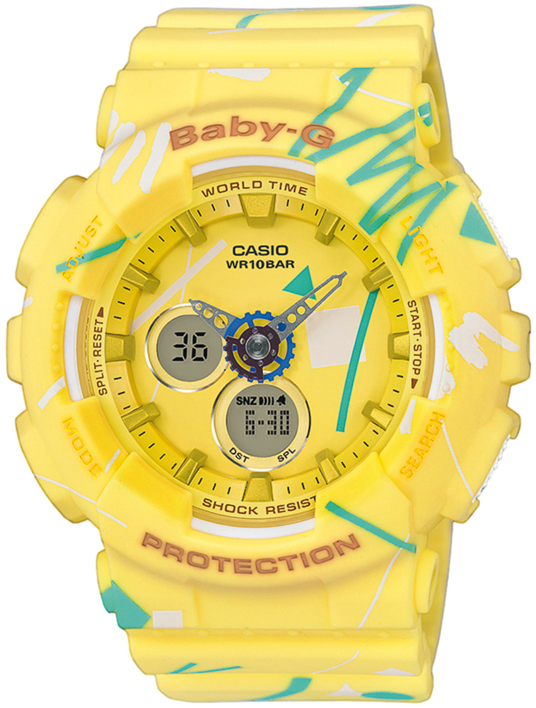 zegarek Casio BA-120SC-9AER - zdjęcia 1