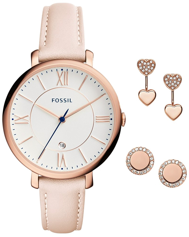 zegarek Fossil ES4202SET-POWYSTAWOWY - zdjęcia 1