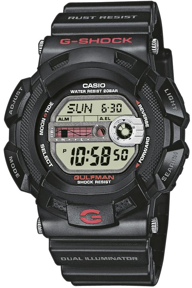 zegarek Casio G-9100-1ER - zdjęcia 1