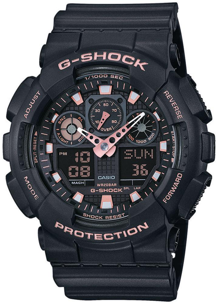 zegarek Casio GA-100GBX-1A4ER - zdjęcia 1