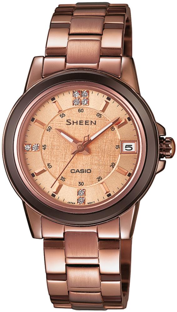 zegarek Casio SHE-4512BR-9AUER - zdjęcia 1