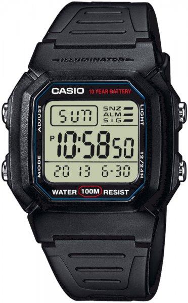 zegarek Casio W-800H-1AVEF - zdjęcia 1