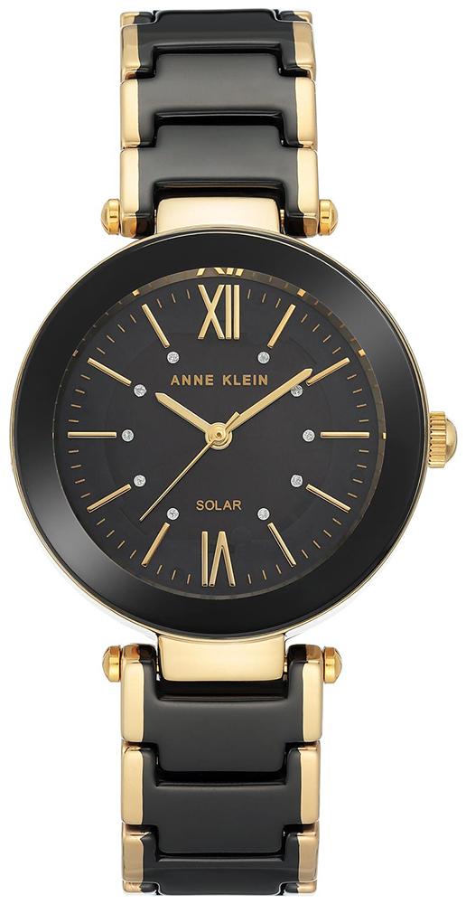 zegarek Anne Klein AK-3844BKGB-POWYSTAWOWY - zdjęcia 1