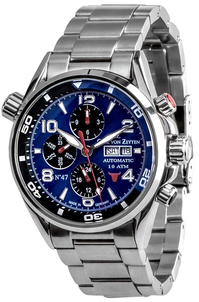zegarek Carl von Zeyten CVZ0047BLMB - zdjęcia 1