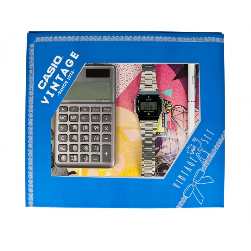 zegarek Casio ZESTAW-19-CV-GIFT-SET-SILVER - zdjęcia 1