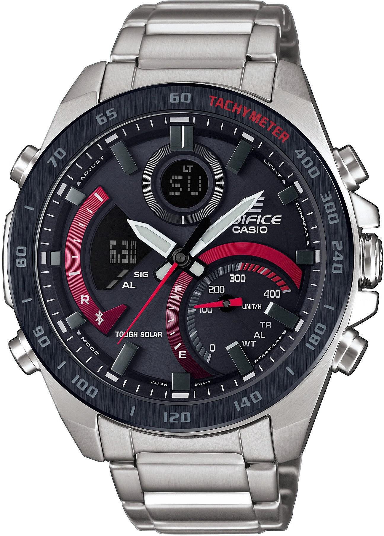 zegarek Casio ECB-900DB-1AER-POWYSTAWOWY - zdjęcia 1