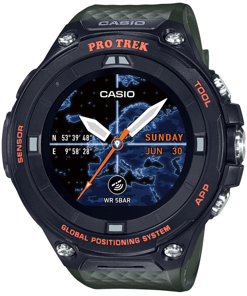 zegarek Casio WSD-F20A-GNBAE - zdjęcia 1