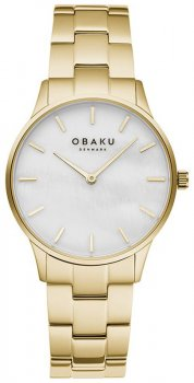 Zegarek  Obaku Denmark V247LXGWSG