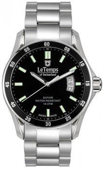 Zegarek męski Le Temps LT1078.11BS01