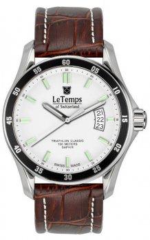 Zegarek męski Le Temps LT1078.12BL02