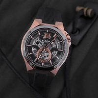 Zegarek męski Bulova Automatic 98A177 - zdjęcie 4